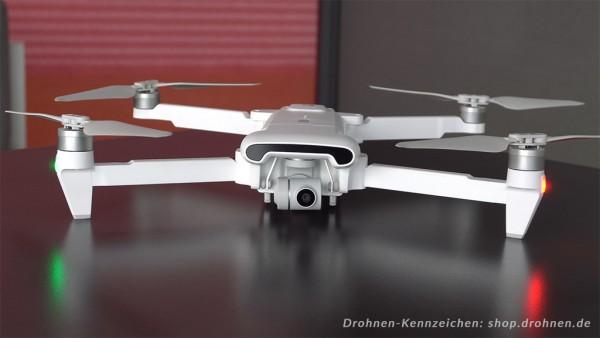 Xiaomi FIMI X8 SE - Drohnen-Plakette / Kennzeichen