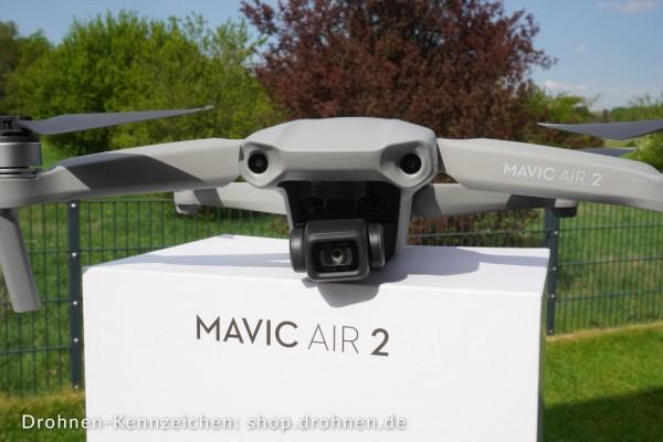 DJI Mavic Air 2 - Drohnen-Plakette / Kennzeichen