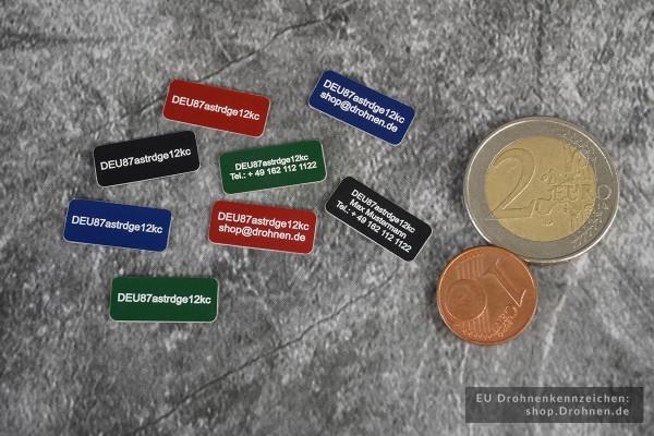 Drohnen-Kennzeichen / Plakette für Österreich