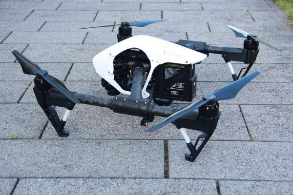 DJI Inspire 1 / DJI Inspire 2 - Drohnen-Plakette / Kennzeichen