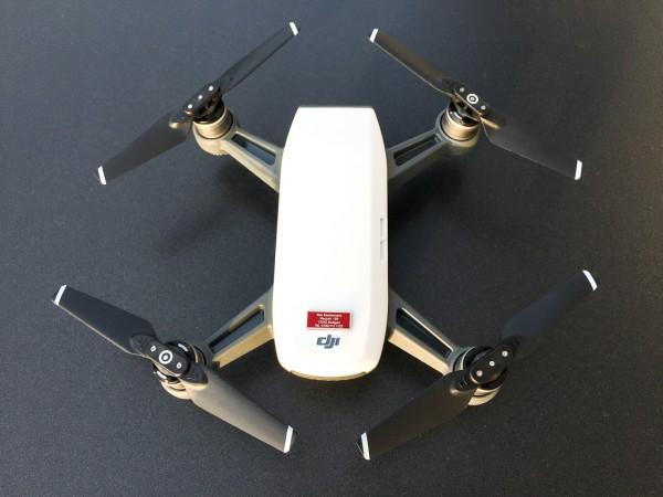 DJI Spark - Drohnen-Plakette / Kennzeichen