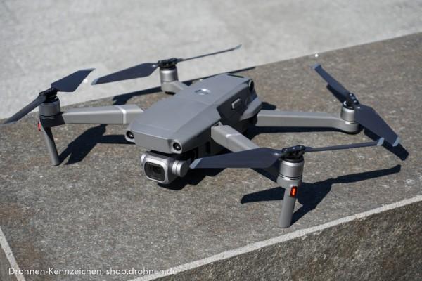 DJI Mavic 2 Pro / Zoom - Drohnen-Plakette / Kennzeichen