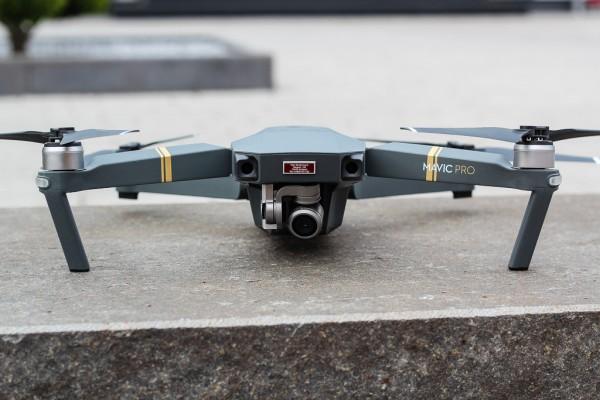 DJI Mavic Pro - Drohnen-Plakette / Kennzeichen