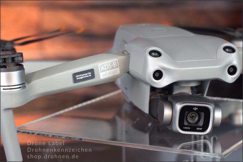eID-Drohnen-Kennzeichen-Plakette-EU-Drohnenverordnung-DJI-AIR-2S