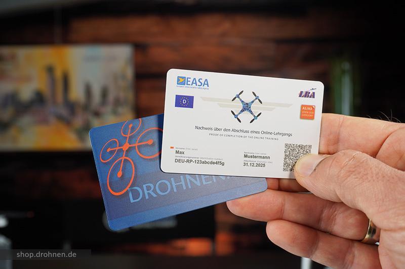 EU-Drohnenf-hrerschein-Kompetenznachweis-Karte-Scheckkarte-Plastik